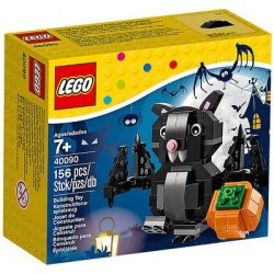 LEGO, Halloween, Bat and Pumpkin